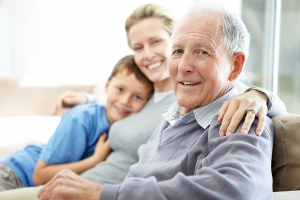 Pflege innerhalb der Familie